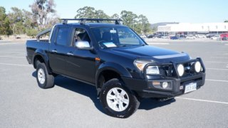 2009 Ford Ranger PK XLT Crew Cab Black 5 Speed Manual Utility.