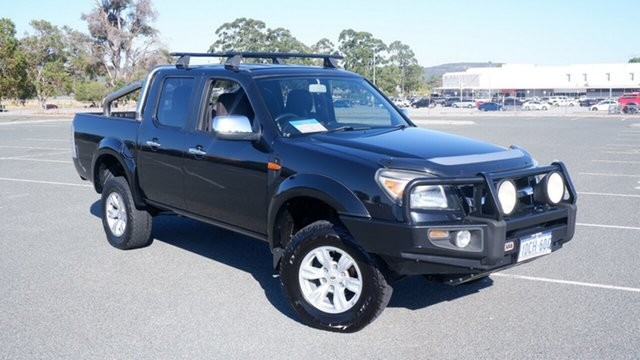 Used Ford Ranger PK XLT Crew Cab Maddington, 2009 Ford Ranger PK XLT Crew Cab Black 5 Speed Manual Utility