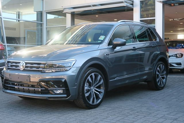Demo Volkswagen Tiguan 5N MY20 162TSI DSG 4MOTION Highline Botany, 2020 Volkswagen Tiguan 5N MY20 162TSI DSG 4MOTION Highline Grey 7 Speed Sports Automatic Dual Clutch