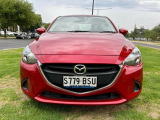 2017 Mazda 2 DJ2HAA Neo SKYACTIV-Drive Red/Black 6 Speed Sports Automatic Hatchback