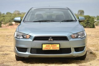 2010 Mitsubishi Lancer CJ MY11 SX Silver 5 Speed Manual Sedan.