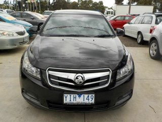 2011 Holden Cruze JG CD Black 5 Speed Manual Sedan