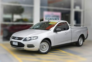 2014 Ford Falcon FG MkII EcoLPi Ute Super Cab Silver 6 Speed Sports Automatic Utility.