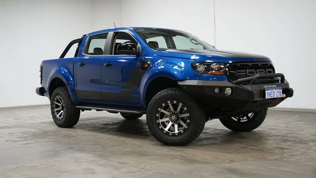 Used Ford Ranger PX MkIII 2020.75MY XLS Welshpool, 2020 Ford Ranger PX MkIII 2020.75MY XLS Blue 6 Speed Sports Automatic Double Cab Pick Up