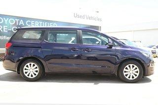 2018 Kia Carnival YP PE MY19 S Blue 8 Speed Automatic Wagon