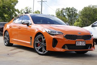 2019 Kia Stinger CK MY20 GT Fastback Orange 8 Speed Sports Automatic Sedan.