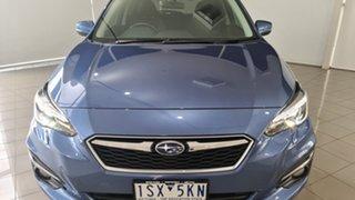 2017 Subaru Impreza G5 MY17 2.0i-S CVT AWD Blue 7 Speed Constant Variable Hatchback.