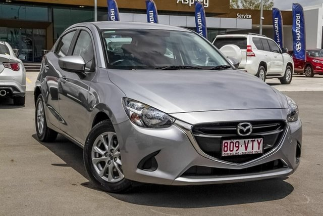 Used Mazda 2 DJ2HAA Maxx SKYACTIV-Drive Aspley, 2015 Mazda 2 DJ2HAA Maxx SKYACTIV-Drive Grey 6 Speed Sports Automatic Hatchback