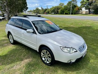 2007 Subaru Outback B4A MY08 R AWD Premium Pack White 5 Speed Sports Automatic Wagon