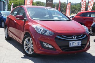 2013 Hyundai i30 GD Elite Brilliant Red 6 Speed Sports Automatic Hatchback.