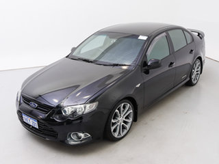 2012 Ford Falcon FG MK2 XR6T Limited Edition Black 6 Speed Auto Seq Sportshift Sedan