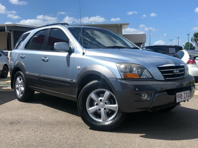 Used Kia Sorento BL MY07 EX Garbutt, 2007 Kia Sorento BL MY07 EX Blue 5 Speed Sports Automatic Wagon