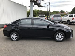 2016 Toyota Corolla ZRE172R Ascent S-CVT Black 7 Speed Constant Variable Sedan.