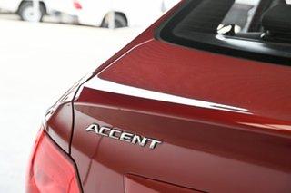 2017 Hyundai Accent RB5 MY17 Sport Red 6 Speed Sports Automatic Sedan