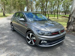 2020 Volkswagen Polo AW MY21 GTI DSG Limestone Grey 6 Speed Sports Automatic Dual Clutch Hatchback.