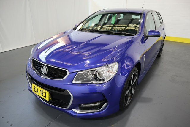 Used Holden Commodore VF II MY17 SV6 Sportwagon Castle Hill, 2017 Holden Commodore VF II MY17 SV6 Sportwagon Blue 6 Speed Sports Automatic Wagon