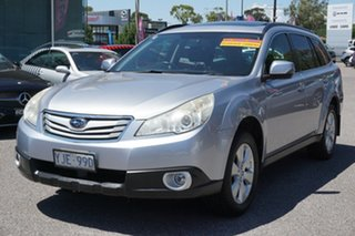 2012 Subaru Outback B5A MY12 2.5i Lineartronic AWD Silver 6 Speed Constant Variable Wagon