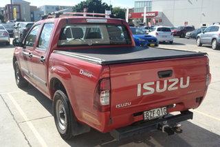 2010 Isuzu D-MAX MY10 SX 4x2 Red 5 Speed Manual Utility