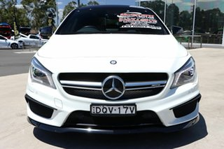 2014 Mercedes-Benz CLA-Class C117 CLA45 AMG SPEEDSHIFT DCT 4MATIC White 7 Speed
