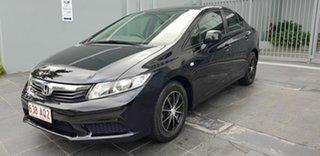 2012 Honda Civic Series 2 VTi Black 5 Speed Automatic Sedan.