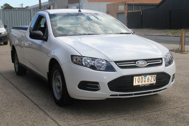 Used Ford Falcon FG MK2 (LPi) West Footscray, 2014 Ford Falcon FG MK2 (LPi) White 6 Speed Automatic Utility