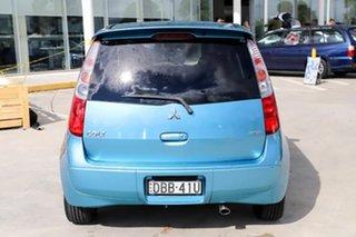 2011 Mitsubishi Colt RG MY11 VR-X Blue 5 Speed Manual Hatchback