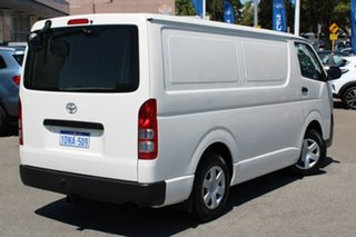 2010 Toyota HiAce TRH201R MY10 LWB White 5 Speed Manual Van