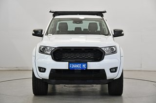 2018 Ford Ranger PX MkIII 2019.00MY XLT White 10 Speed Sports Automatic Utility.