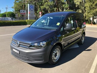 2020 Volkswagen Caddy 2KN MY20 TSI220 SWB DSG Blue 7 Speed Sports Automatic Dual Clutch Van