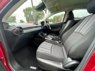 2017 Mazda 2 DJ2HAA Neo SKYACTIV-Drive Red/Black 6 Speed Sports Automatic Hatchback