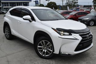 2017 Lexus NX AGZ10R NX200t 2WD Luxury White 6 Speed Sports Automatic Wagon.
