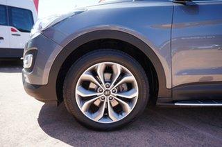 2014 Hyundai Santa Fe DM Highlander CRDi (4x4) Grey 6 Speed Automatic Wagon.