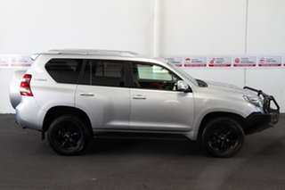2015 Toyota Landcruiser Prado GDJ150R GXL Silver Pearl 6 Speed Manual Wagon