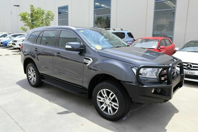 Used Ford Everest UA 2018.00MY Trend Castle Hill, 2018 Ford Everest UA 2018.00MY Trend Grey 6 Speed Sports Automatic SUV