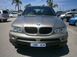 2006 BMW X5 E53 MY06 d Steptronic Gold 6 Speed Sports Automatic Wagon.