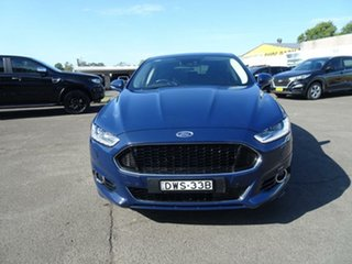 2017 Ford Mondeo MD 2017.50MY Titanium Blazer Blue 6 Speed Sports Automatic Hatchback