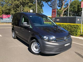 2020 Volkswagen Caddy 2KN MY20 TSI220 SWB DSG Blue 7 Speed Sports Automatic Dual Clutch Van.