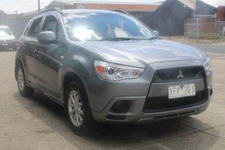 2011 Mitsubishi ASX XA MY12 (2WD) Grey Continuous Variable Wagon.