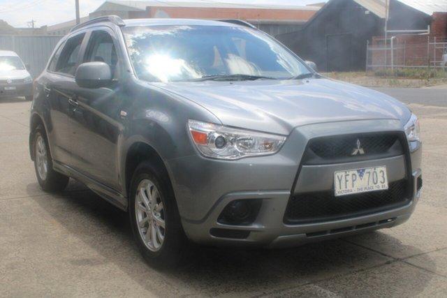 Used Mitsubishi ASX XA MY12 (2WD) West Footscray, 2011 Mitsubishi ASX XA MY12 (2WD) Grey Continuous Variable Wagon