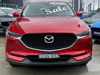 2017 Mazda CX-5 KF4WLA GT SKYACTIV-Drive i-ACTIV AWD Red 6 Speed Sports Automatic Wagon