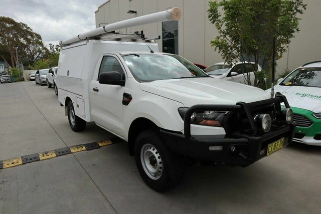 Used Ford Ranger PX MkII XL Castle Hill, 2016 Ford Ranger PX MkII XL White 6 Speed Sports Automatic Cab Chassis