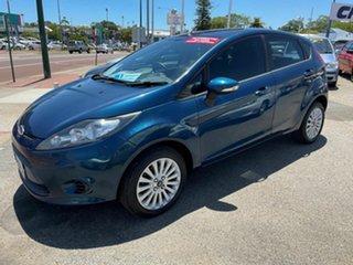 2010 Ford Fiesta WT LX Blue 6 Speed Automatic Hatchback.