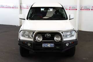 2011 Toyota Landcruiser VDJ200R MY10 GXL Glacier White 6 Speed Sports Automatic Wagon.
