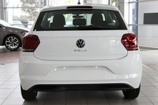 2020 Volkswagen Polo AW MY21 85TSI DSG Comfortline White 7 Speed Sports Automatic Dual Clutch