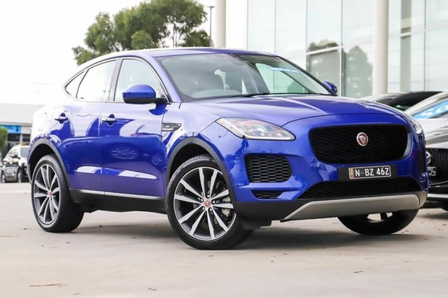 Used Jaguar E-PACE X540 18MY Standard S Kirrawee, 2018 Jaguar E-PACE X540 18MY Standard S Blue 9 Speed Sports Automatic Wagon