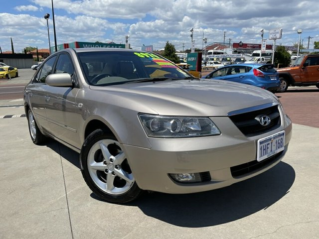 Used Hyundai Sonata NF Elite Victoria Park, 2006 Hyundai Sonata NF Elite Gold 4 Speed Sequential Auto Sedan