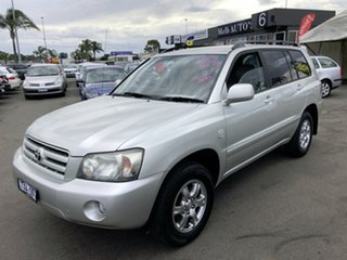 2006 Toyota Kluger MCU28R Upgrade CVX (4x4) Silver 5 Speed Automatic Wagon.