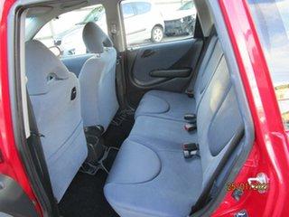 2006 Honda Jazz MY06 GLi Red 5 Speed Manual Hatchback
