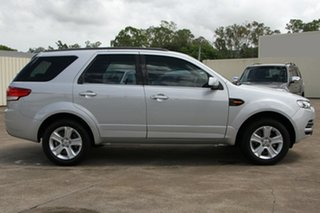 2013 Ford Territory SZ TS Seq Sport Shift Silver 6 Speed Sports Automatic Wagon.
