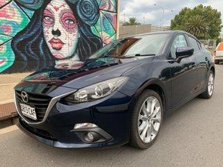 2014 Mazda 3 BM5236 SP25 SKYACTIV-MT Blue 6 Speed Manual Sedan